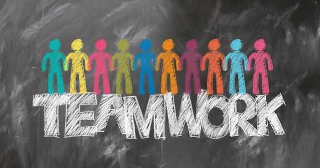 チームワークのイメージ