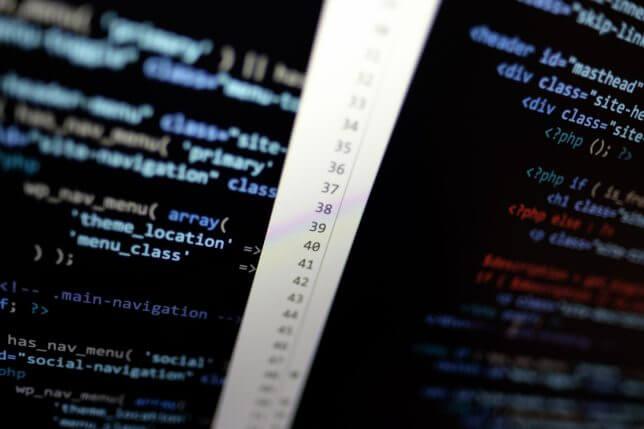 プログラミングの画面イメージ