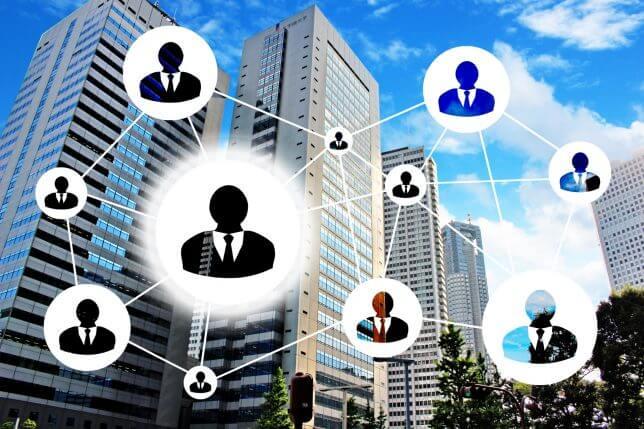 人とネットワークのイメージ