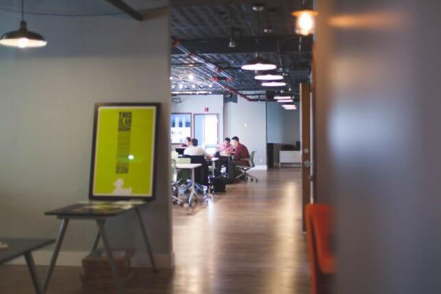ベンチャーのオフィスのイメージ