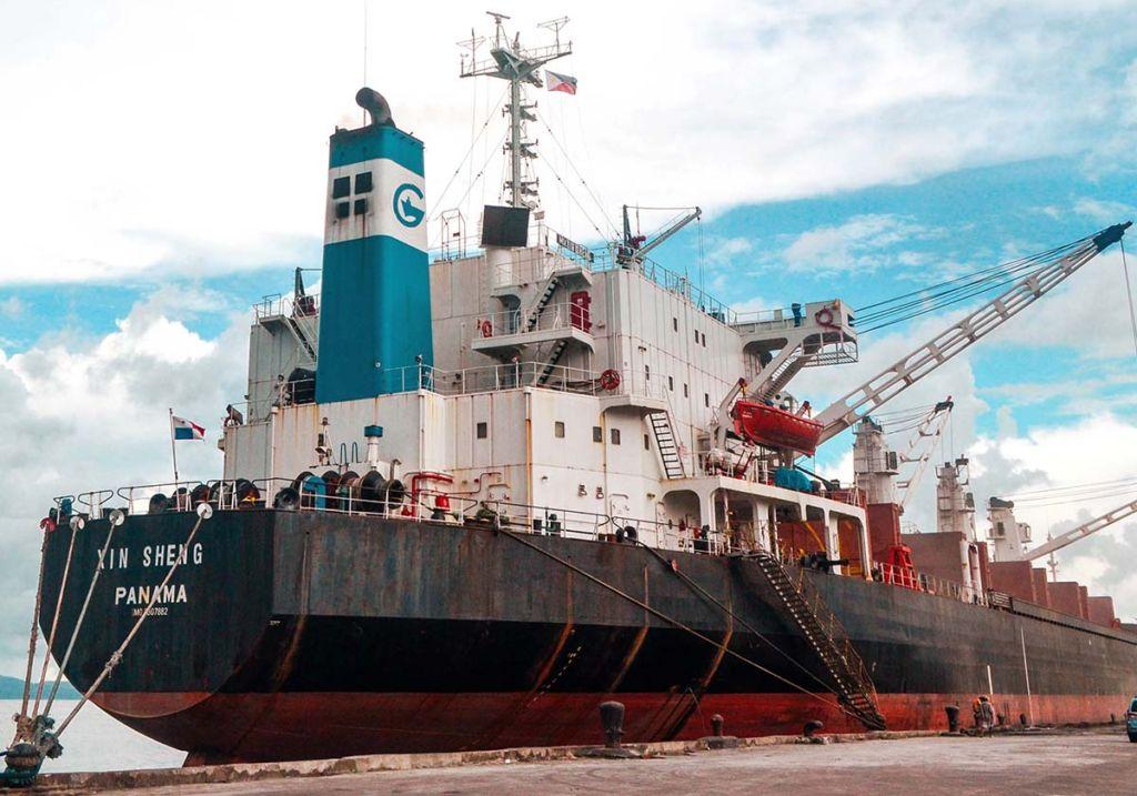 貨物船のイメージ