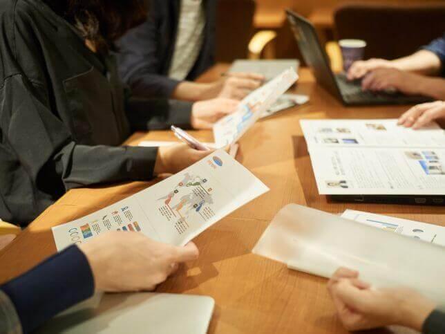 会議中のイメージ