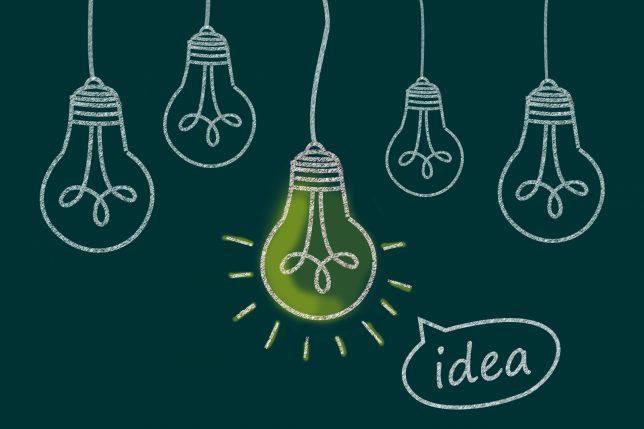 アイディアのイメージ