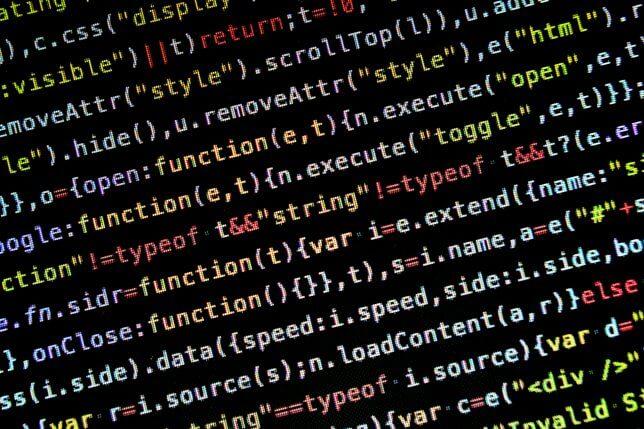 コンピュータの言語イメージ