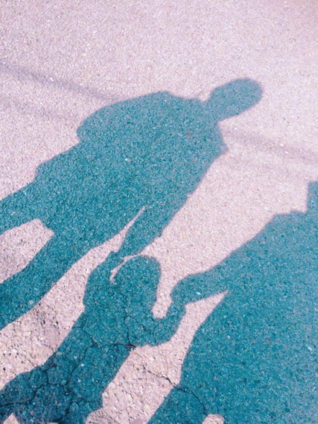 家族3人のイメージ
