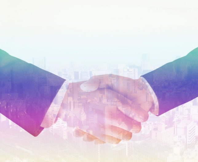 握手するビジネスマンのイメージ