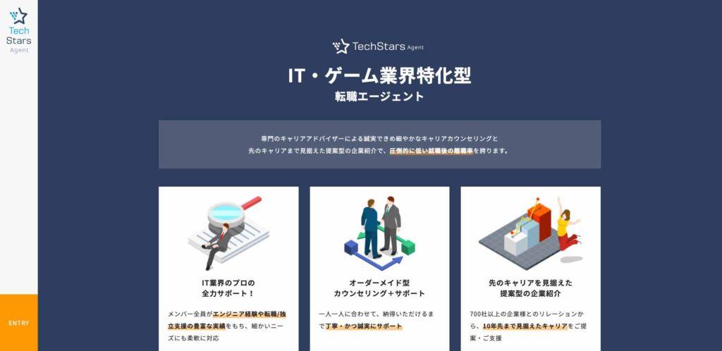 IT/Web/ゲーム業界に特化した転職サイト
