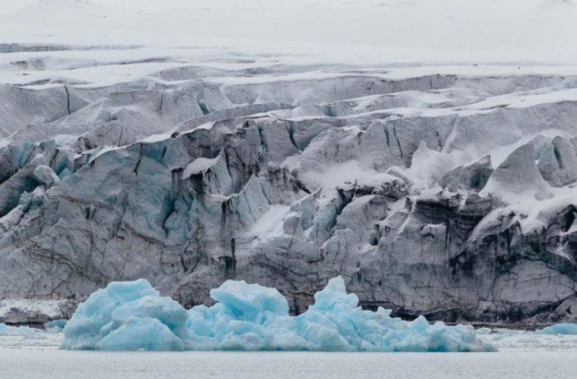 氷河期のイメージ