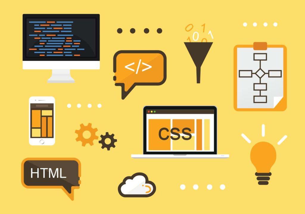 HTMLやCSSなどのイメージ