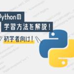 "<span class=""title"">【未経験向け】Pythonの勉強・学習方法を解説!プログラミング初学者必見!</span>"