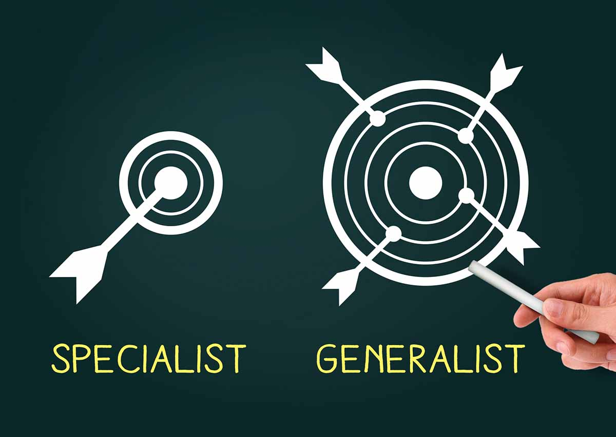 あなたがなりたいのは「ジェネラリスト」か「スペシャリスト」か